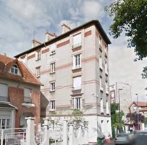 L'appartement de Marina Tsvetaïeva au premier étage du 101,rue Condorcet.